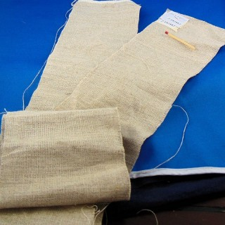 Tira de lino para bordar ancho 10 cm