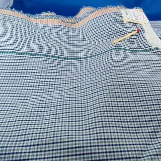 Mini tela de algodón azulejos escoceses por 50 centímetros
