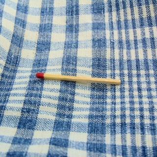 Coupon en coton à carreaux kelsch épais largeur 75cm x 110 cm