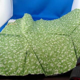 Coupon coton à petites fleurs Laura Ashley