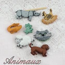 Animales, perros, gatos, león