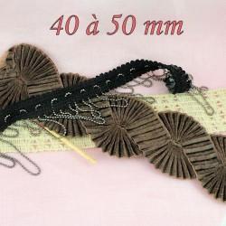 4 cm bis 5 cm, 40 bis 50mm