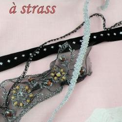 jewelry, mettallic, sequin ribbons.