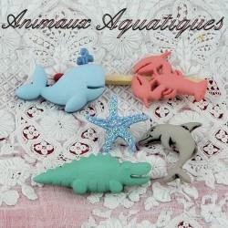 Aquatic animals.