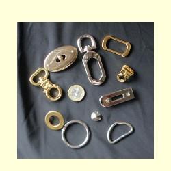 Fournitures métal,Matériel maroquinerie, pour sacs