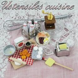 Ustensiles de cuisine miniatures