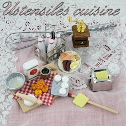 Utensilios de cocina miniaturas