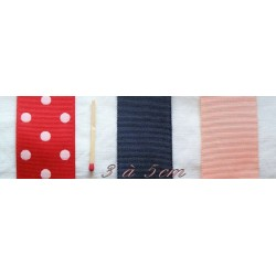 Grosgrain ribbon from 30mm to 50mm, 3 to 5cm.
