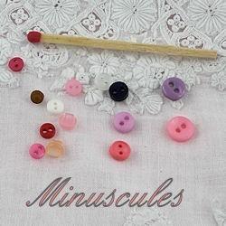 Minuscules 3 à 6 mm