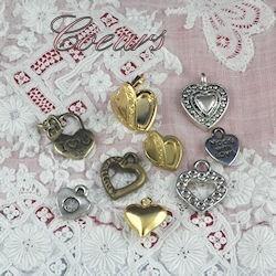 Heart pendant, charm.
