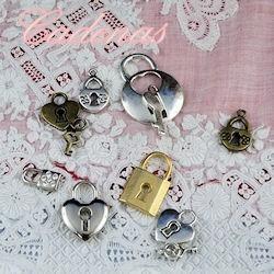 Tiny, small padlock,