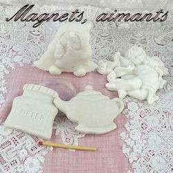 Busts, moldings, magnets