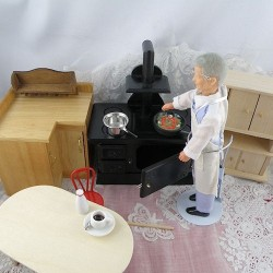 Doll house  kitchen furnitures and accessories
