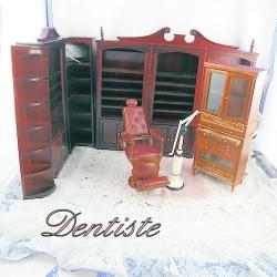 Mueble oficio miniatura