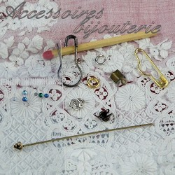 Suministros de joyería, perlas mini la muñeca.