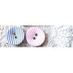 cotton covered buttons, buttons with leather