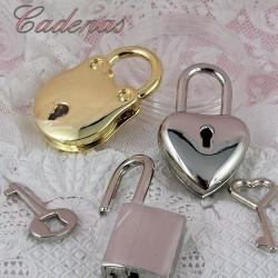Padlock miniature, small padlock.