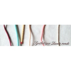 Shoelaces flat synthetic materials, jewelry.
