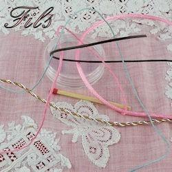 Bead Stringing Materials, Threads.