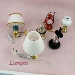 Lámparas, suspensiones, arañas, iluminaciones.