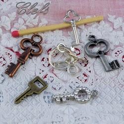 Clef, clé, accessoire maison poupée.