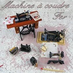 Máquina de coser, planchado