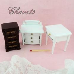 Night stand dollhouse miniature furniture