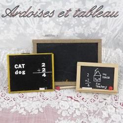 Blackboard & chalkboard