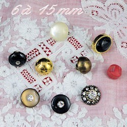 Shank medium size buttons
