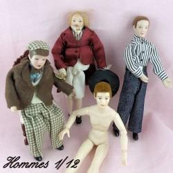 Puppe 1/12ème Miniaturmann