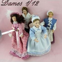 Lady doll 1/12
