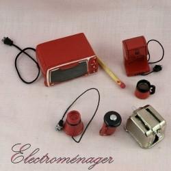 Household appliance miniature