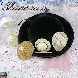 Hats for dolls,
