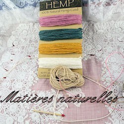 Thread natural material.
