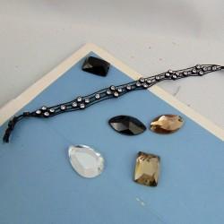 Piedras y adornos para coser