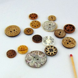 Ethnic buttons