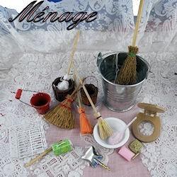 Housework miniature,