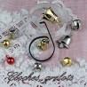 Bell, jingles, liberty bell miniature.