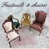 Chair & armchair