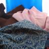 Tejido de terciopelo de algodón